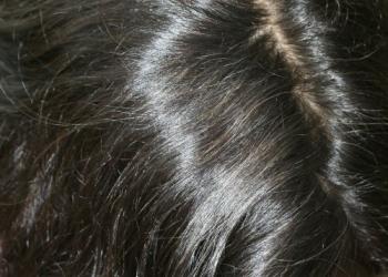 Delia 2 - dupa aplicare Henna Mandala - Castaniu Inchis