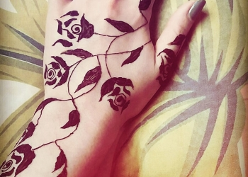 Tatuaj henna mandala Mariana 5-min