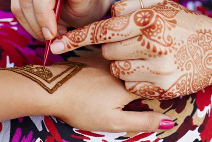 Henna Mandala pentru tatuaje temporare