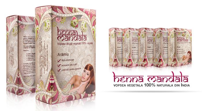 Nuante vopsea Henna Mandala