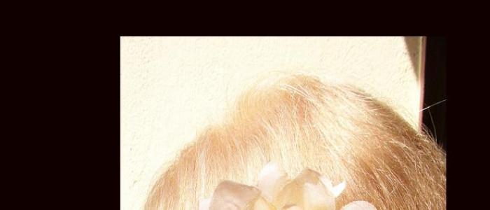 Experienta Mariei cu Henna Mandala Blond
