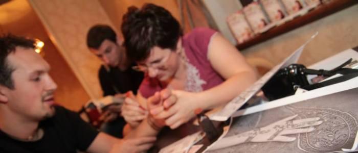 Henna Mandala la Seara Indiana de la Cafepedia – Bucate Unicate