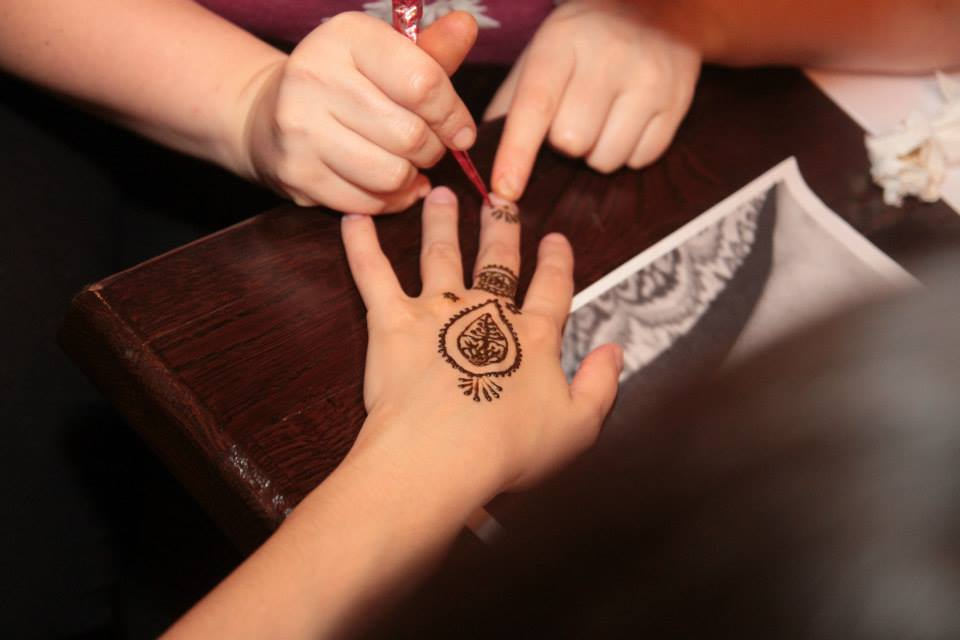 Henna Mandala la Cafepedia 5