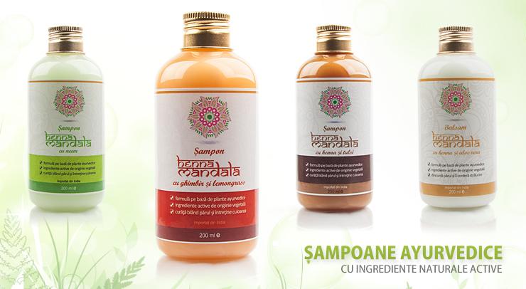 Sampoane Henna Mandala