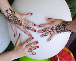 Poze tatuaje cu Henna Mandala