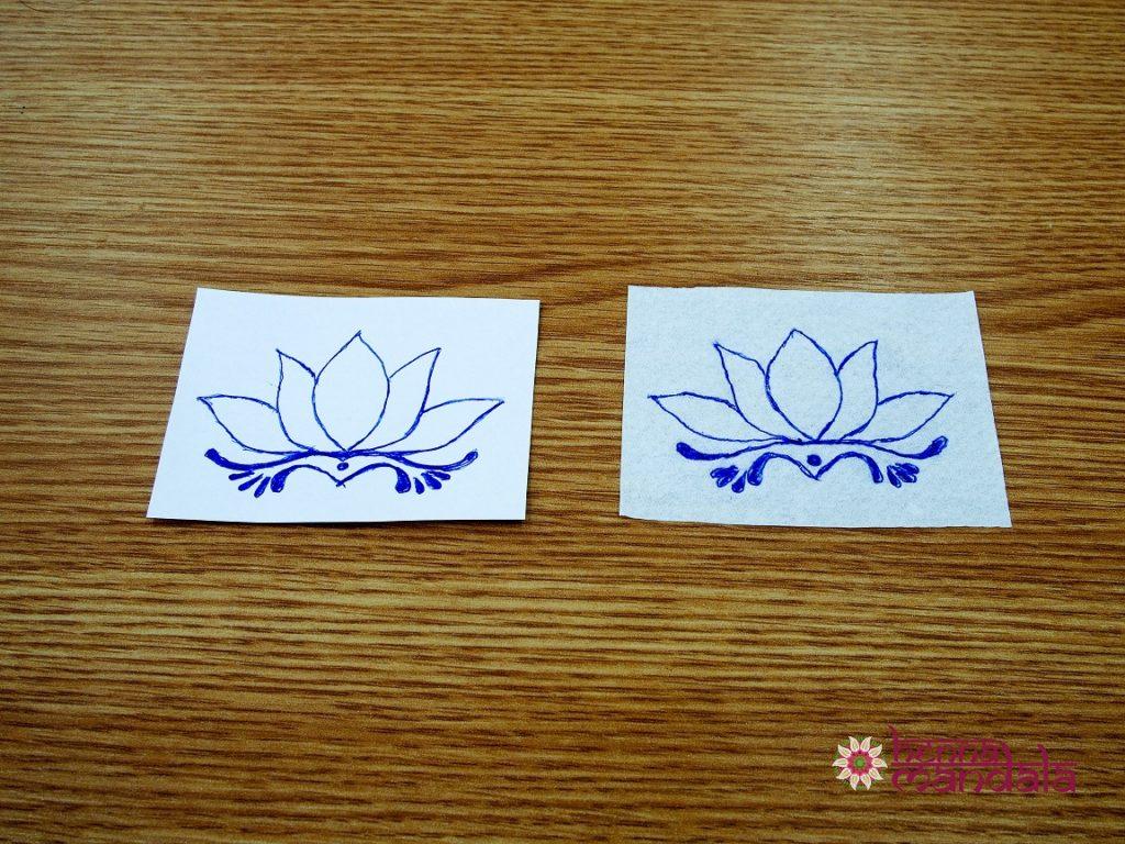 stencil model aplicare tatuaj cu henna