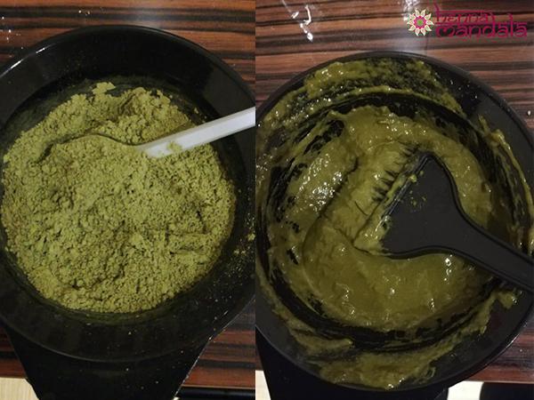 Henna Mandala pudra si pasta