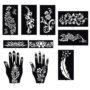 10 modele sabloane henna tatuaje temporare