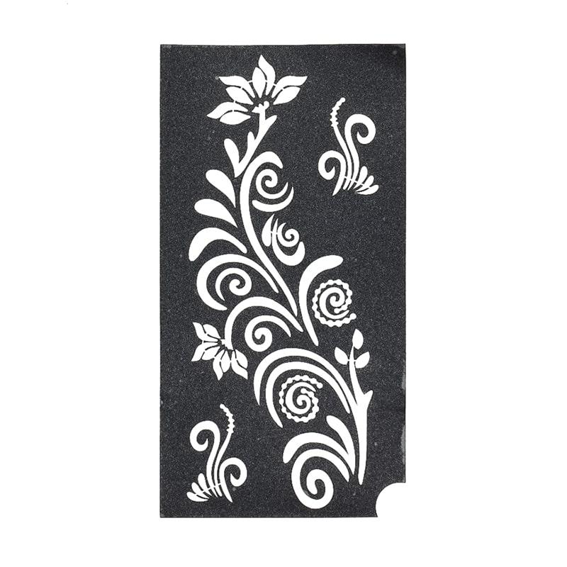 sablon henna tatuaje temporare flori si detalii