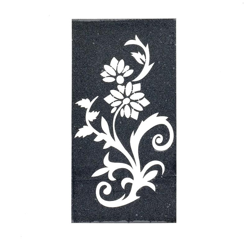 sablon henna tatuaje temporare flori cu frunze