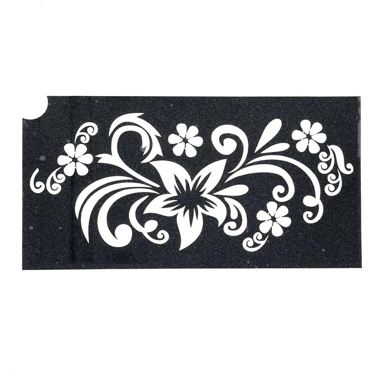 sablon henna tatuaje temporare flori mari si mici